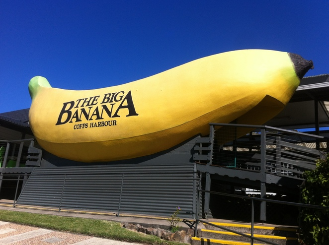 big banana, theme park, coffs harbour, nsw, thrills, fun family things to do, ice skating, water slide, mini golf, birthday, kids parties, family outings