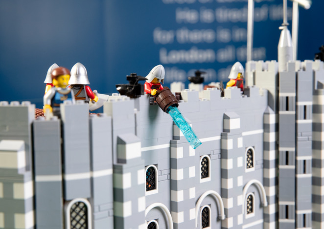 Brickman Cities Powered by Lego