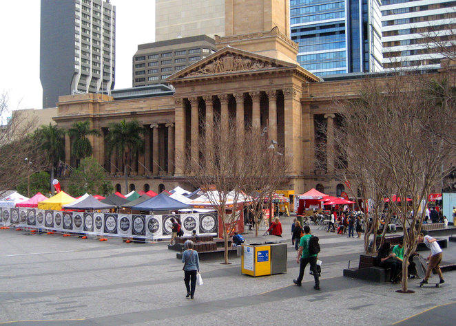 Did you know that Tuesdays at lunch time the Brisbane City Hall has free concerts? Well now you do?