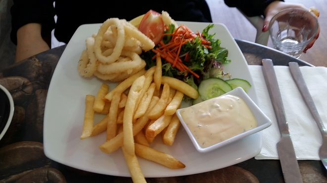 calamari rings platform one cafe ormond