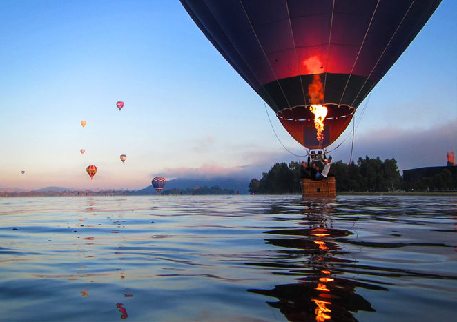 Canberra Balloon Spectacular 2017, events, hot air balloons, march, families, ballooning,