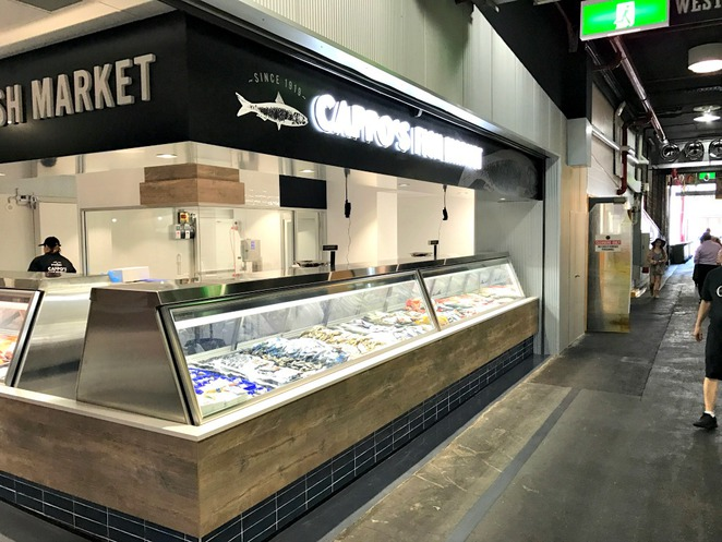 Cappo Bros, Central Market, Adelaide, Fish