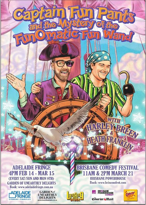 captain fun pants and the mystery of the funomatic fun wand heath franklin harley breen