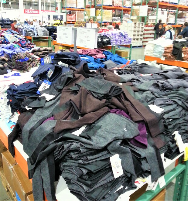 Costco Epping, clothing