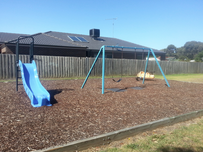 Crane Court, Ocean Grove, Playground, Slide, Swings, Kids, Play,