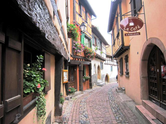 eguisheim, Alsace Region, France