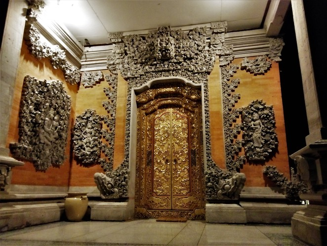 Entrance to Agung Rai Museum of Art