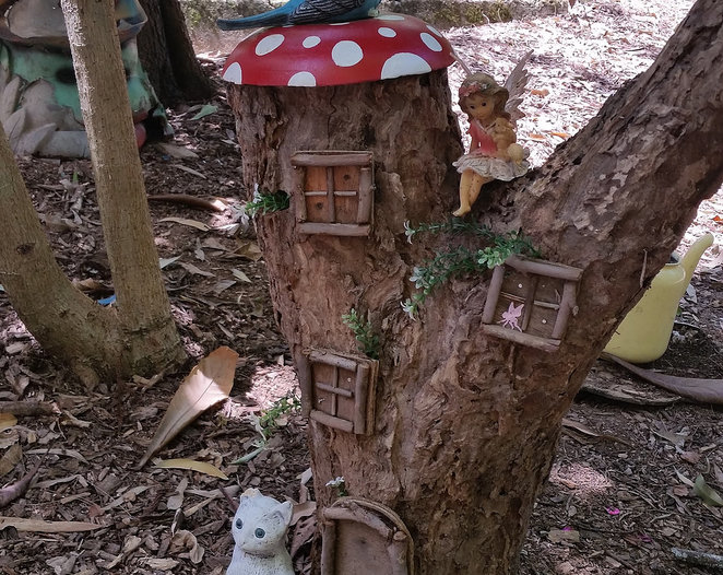 fairy, garden, trail, sanctuary, brisbane