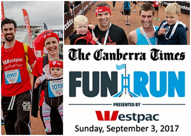 fathers day, 2017, westpac, canberra times run, fun run, fathers day 2017, ACT, canberra,