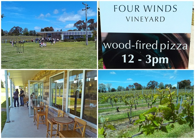 four winds vineyard, four winds wineries, murrumbateman, canberra wine district, ACT, NSW, lunch,