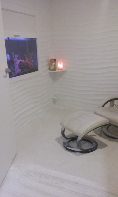 Frankston Salts of the Earth salt therapy room