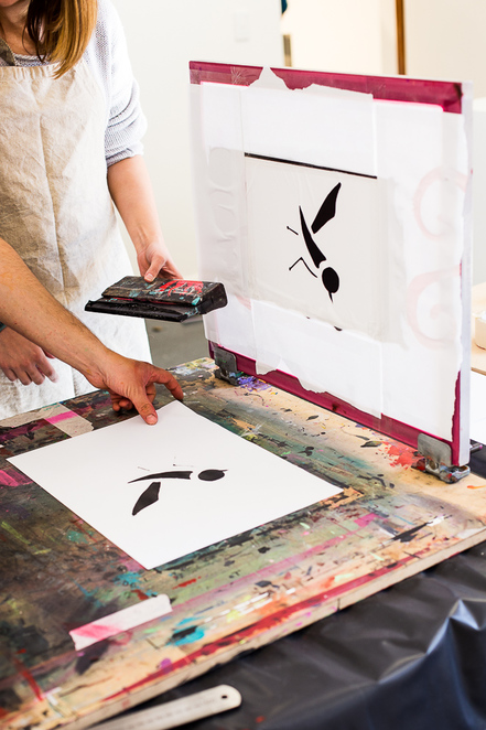 Gallery 1855 Workshop - Head to a class at Gallery 1855, Tea Tree Gully for screen printing and more at their exciting art room and exhibition centre. Adelaide, South Australia.