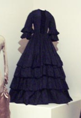Black Mourning Dress
