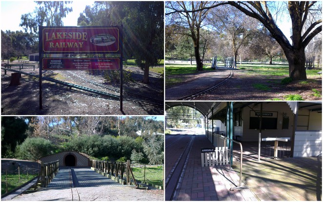 Inchiquin Lake, Clare, Lakeside Railway, Melrose Park, Clare Valley