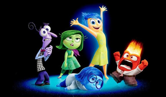 Inside Out - In cinemas now.
