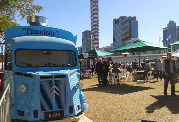 At the Brisbane French Festival