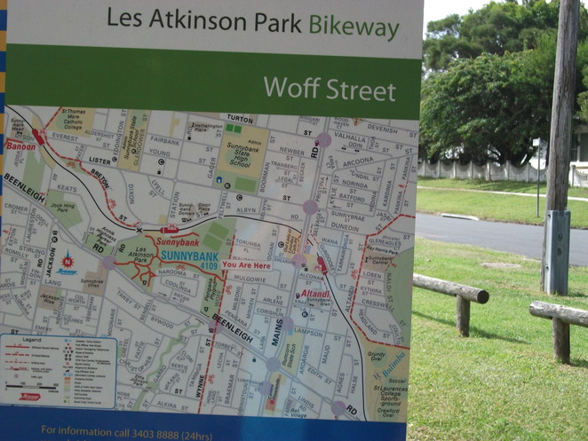 les atkinson bikeway, walking path, playground, barbecue, shelter, wheelchair access, basketball half-court, rebound wall BMX, skating and rollerblading