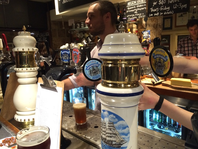 Lord Nelson Brewery Hotel The Rocks Three Sheets Pale Ale Craft Beer Sydney