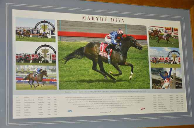 Makybe Diva Melbourne Cup Winners 3 years straight