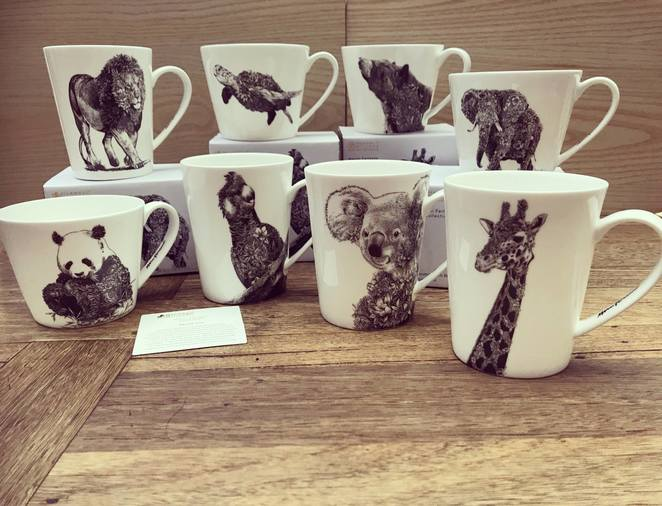 Maxwell williams, wildlife, mugs, kitchenware, tableware, gifts