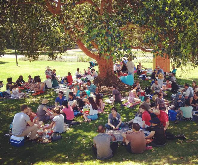 Melbourne Social Christmas Day Picnic Lunch