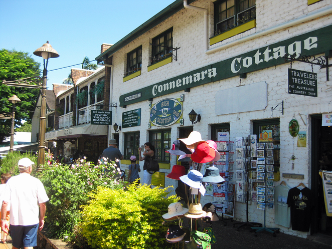 Photos of shops on the main street of Montville courtesy of S. Newrick @ Wikipedia