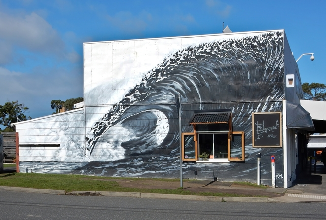 Murals of inverloch,inverlochi street art,inverloch murals,murals Gippsland,street art Gippsland,things to do in Inverloch,things to see in Gippsland,day trips from Melbourne,weekend getaways from Melbourne,Long weekend Melbourne, Bass Coast murals,bass coast street art,rohan manhal,tom murry-white,Inverloch skate park,the local,Inverloch community house,