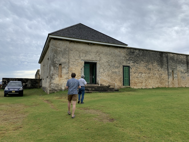 Norfolk Island Museums, The Pier Store, the former Commissariat building, The HMS Sirius Museum, The Commissariat Store, N 10 Quality Row