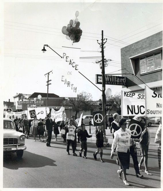 nuclear waste dump, royal commission, free forum, anti nuclear, peace march, in adelaide