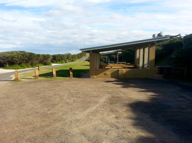 Ocean Grove, Rotunda, BBQ area, public barbecues, surf beach road, picnic area, picnic spot,