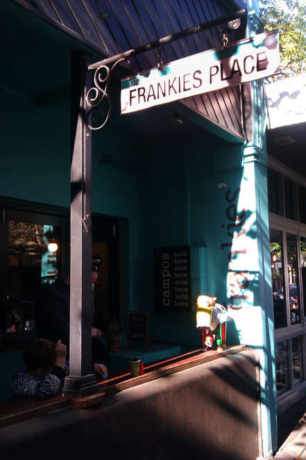 The officially street signed 'Frankies Place'