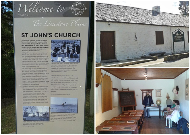 old school house, canberra, st johns the bapstict church, oldest church, ACT, historical buildings.