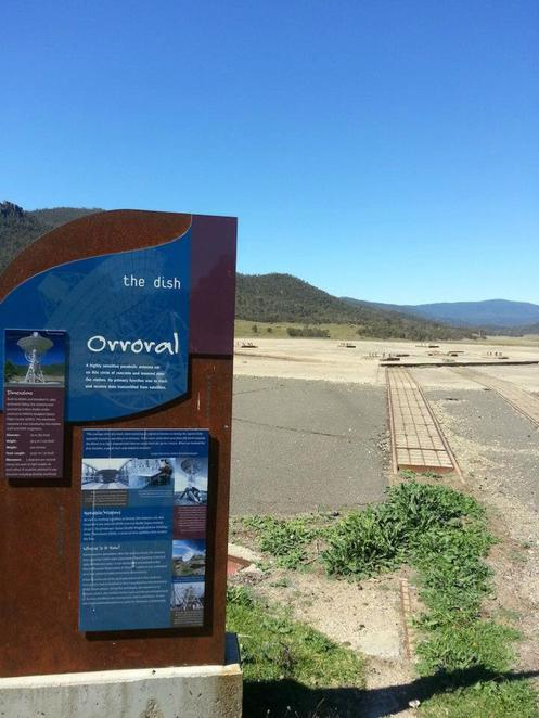 orroral valley heritage walk trail namadgi national park tracking station