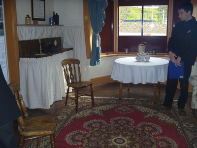 Matron's Drawing Room at Cascades Female Factory