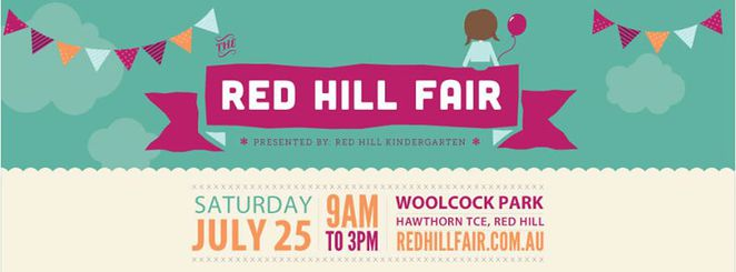 red hill, kindergarten, fair, fete, stalls, entertainment, rides, raffles, food, drink, fund raising