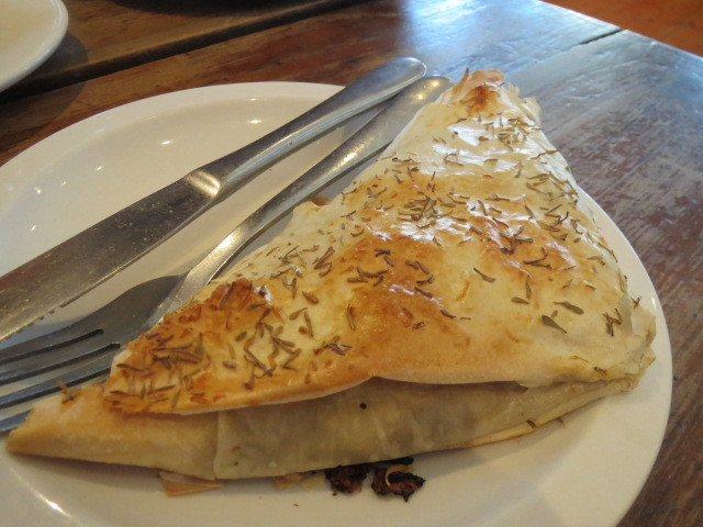 Red Mill Bakehouse, Chicken & Mushroom Filo Pastry, Adelaide