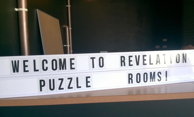 Revelation Puzzle Rooms