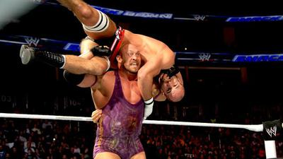 Ryback is coming down under... and he's hungry/Image from WWE.com