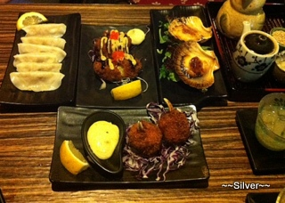 share plates, traditional Japanse food