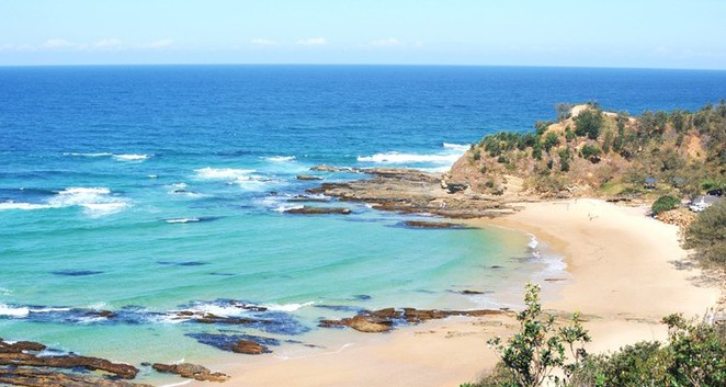 shelly beach, nambucca, nsw, holiday, coast