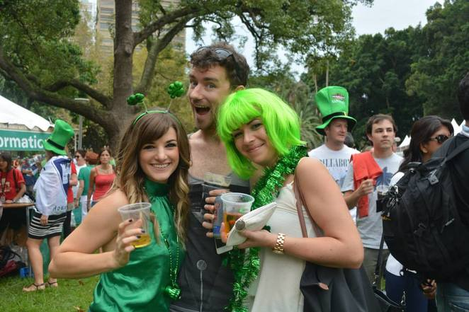 St Patricks Day, Family Events, Moore Park, Food, Festivals, Live Music