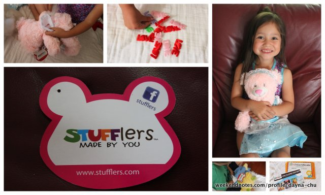 stufflers, build your bear party