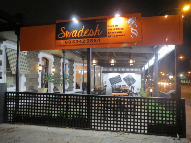 Swadesh Indian Restaurant, Adelaide