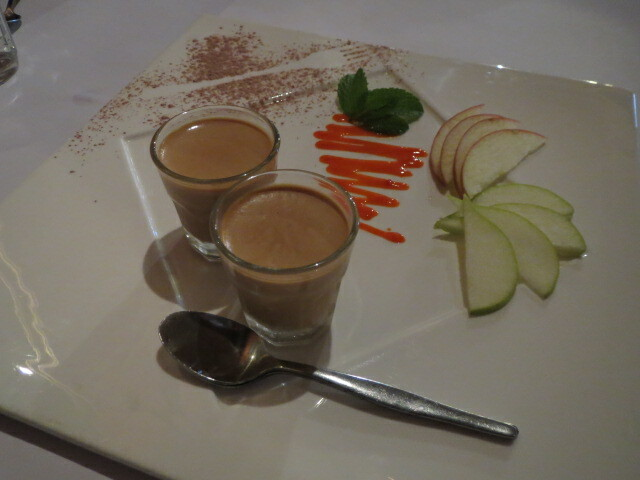The Snake Charmer, Chai Tea Panna Cotta, Adelaide