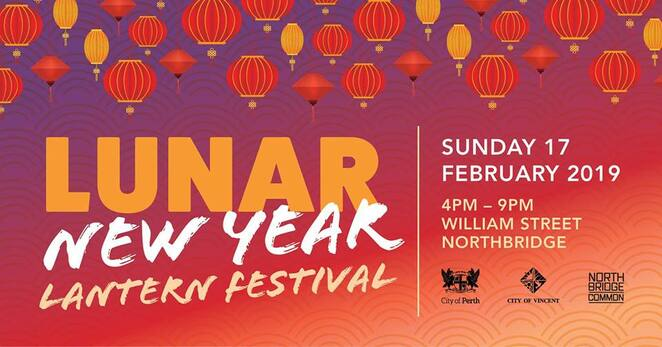 2019 lunar new year lantern festival, community event, fun things to do, perth city, community event, cultural event, fun things to do, lion dancers, kids activities, roving entertainment, free event, family fun, city of vincent, city of perth, northbridge common