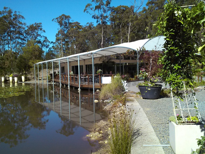 abundance, cafe, plant nursery, sancrox, rawdon island, cafes with views, port macquarie, nsw,