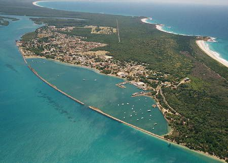 Aerial view of Iluka