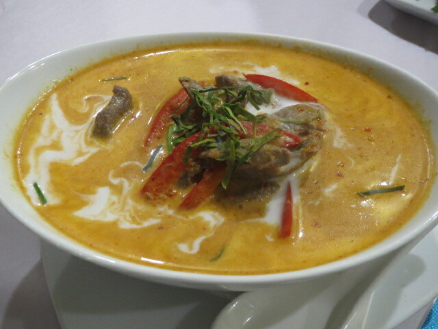 Angel Thai, Panang Curry, Adelaide