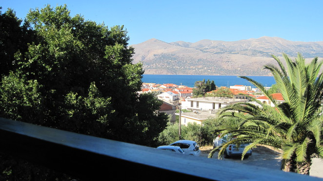 Argostoli Bay from balcony
