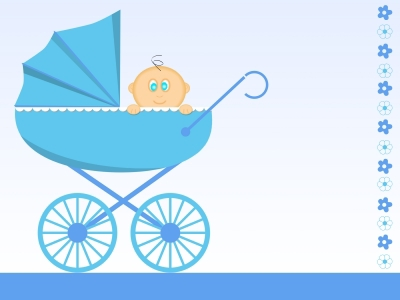 baby,carriage,blue